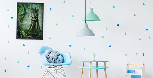 Poster Märchen - Der magische Baum