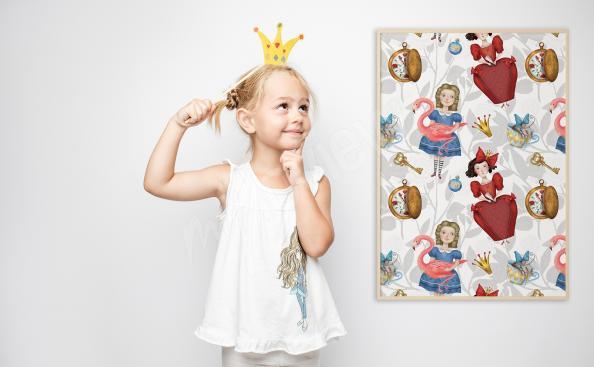 Poster Märchen für ein Mädchen