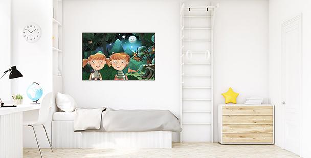 Poster Märchen fürs Kinderzimmer
