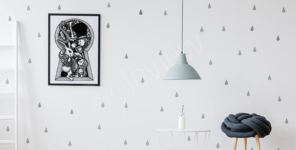 Poster Märchen schwarz-weiß