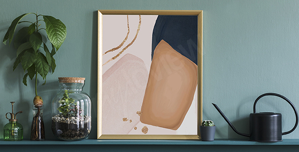 Poster minimalistischer Stil