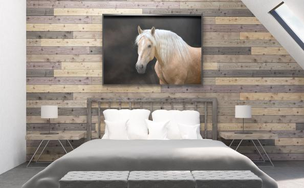 Poster mit Pferde Schlafzimmer