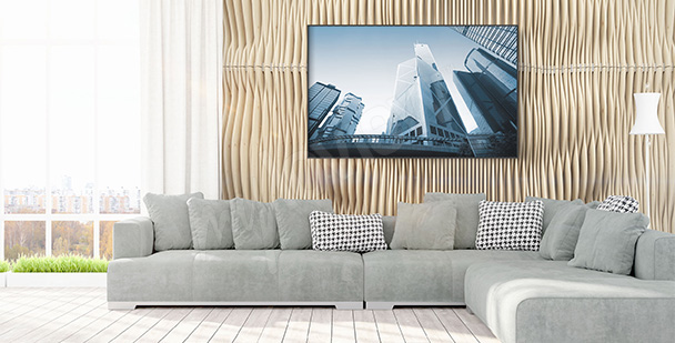 Poster moderne Architektur