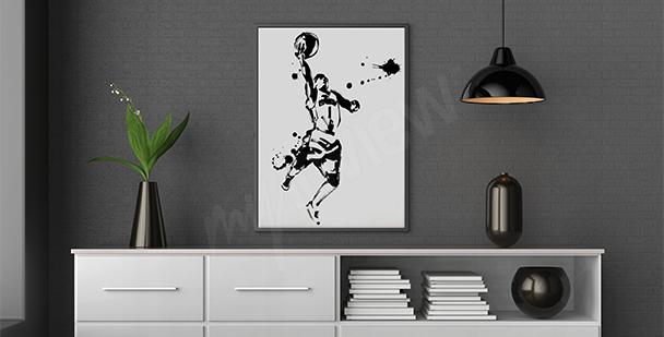 Poster NBA-Spieler