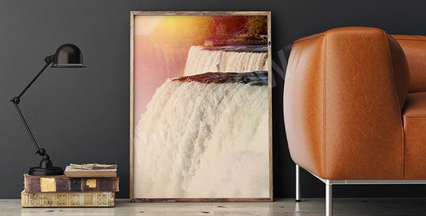 Poster Niagara Wasserfall