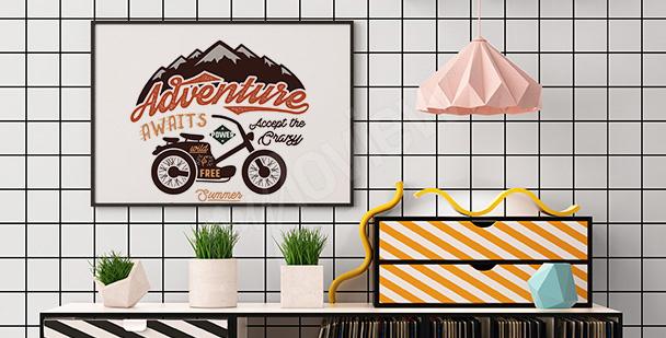 Poster Retro fürs Wohnzimmer