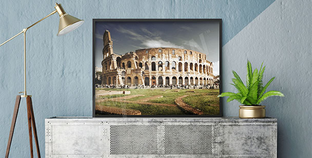 Poster Rom-Architektur