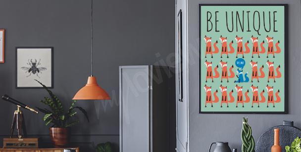 """Poster """"Sei original"""""""