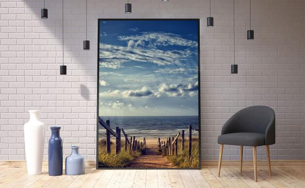 Poster Strand am Meer