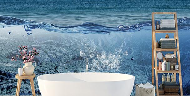 Räumliche Fototapete: Ozean