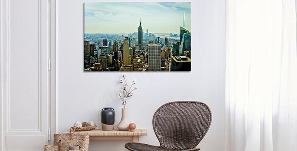 Realistisches Bild - Stadt New York City