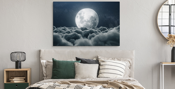 Realistisches Bild Weltraum