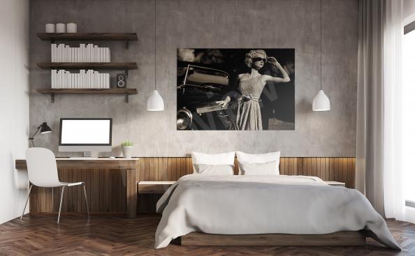 Retro Bild fur Schlafzimmer