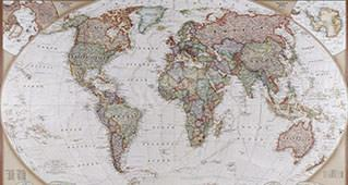Retro-Karte