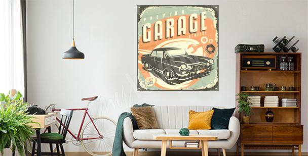 Retro-Sticker fürs Wohnzimmer