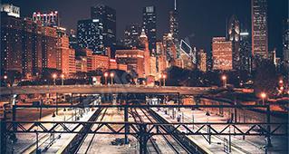 Städte bei Nacht
