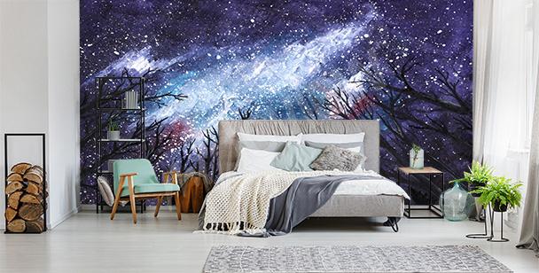 Sternen-Fototapete Weltraum