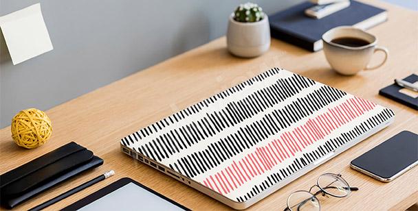 Sticker abstrakte Linien