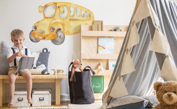 Sticker Fahrzeug fürs Kinderzimmer
