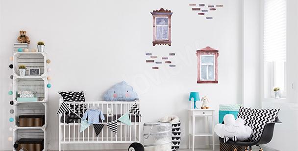 Sticker Fenster fürs Kinderzimmer