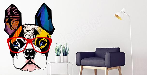 Sticker Französische Bulldogge