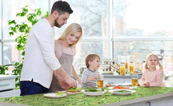 Sticker für den Küchentisch