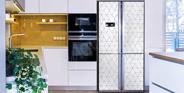 Sticker für den Kühlschrank