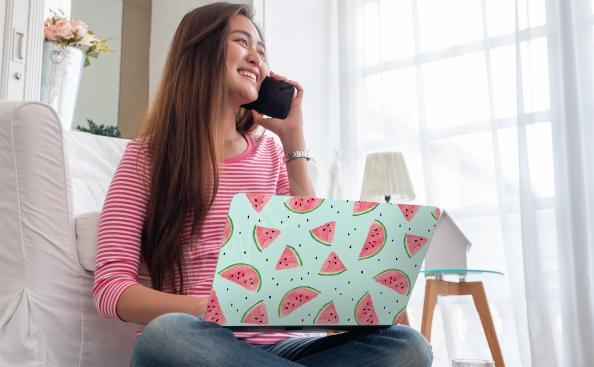 Sticker für den Laptop Wassermelonen