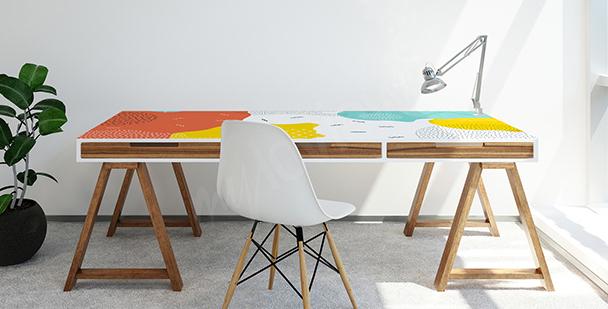 Sticker für den Schreibtisch im Pop-Art-Stil