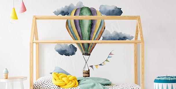 Sticker für ein Mädchen: Luftballon