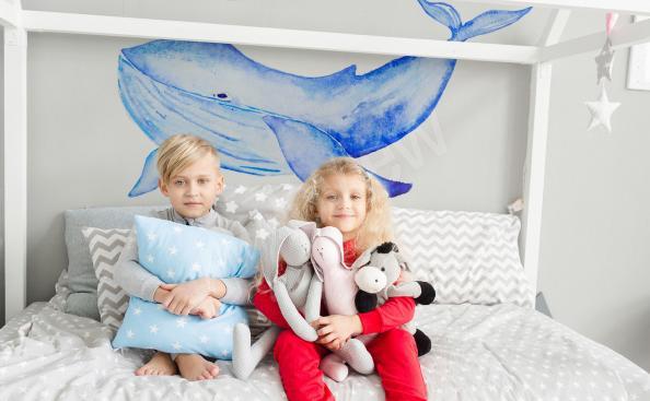 Sticker fürs Kinderzimmer Wal
