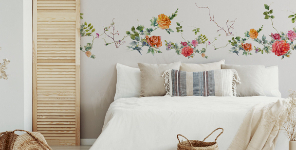 Sticker fürs Schlafzimmer im Boho-Stil