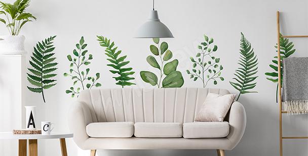 Sticker grüne Natur