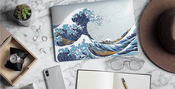 Sticker Hokusai - die große Welle