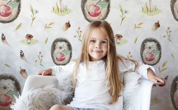 Sticker Igeln für Kinder