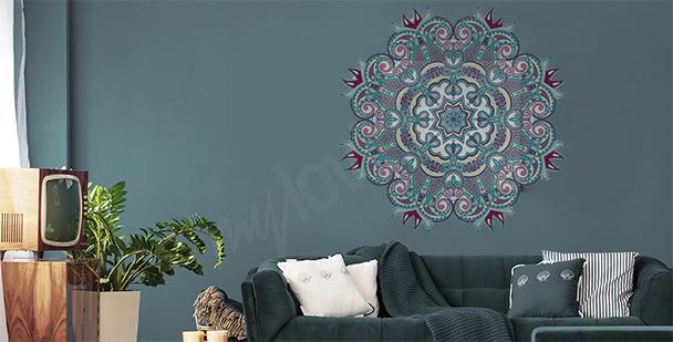 Sticker mit Mandala
