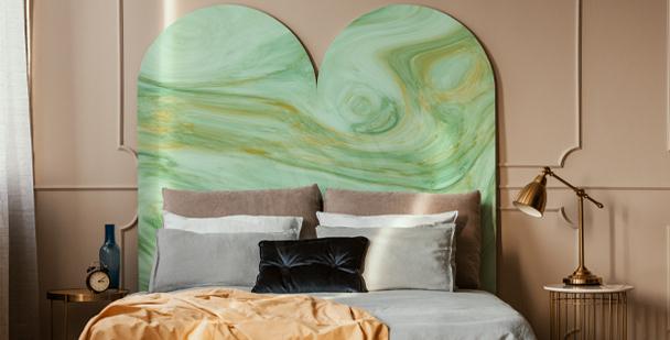 Sticker Wellen Vintage fürs Schlafzimmer