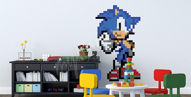 Sticker mit Sonic