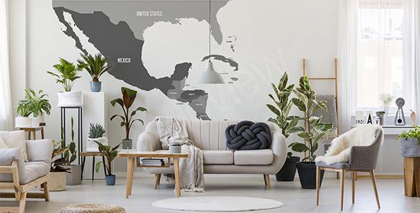 Sticker Mittelamerika fürs Wohnzimmer