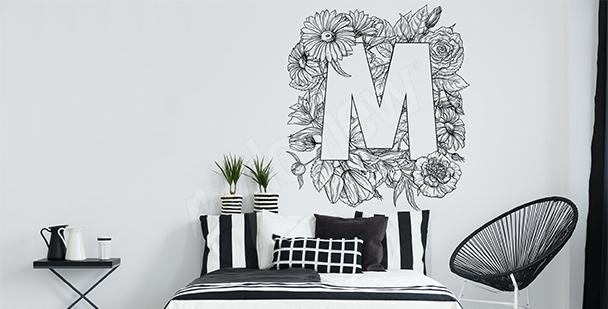 Sticker Natur fürs Schlafzimmer