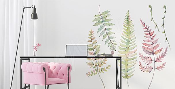 Sticker Natur fürs Wohnzimmer