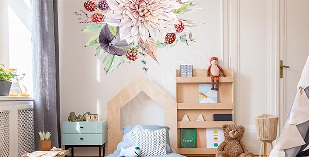 Sticker Obst fürs Kinderzimmer