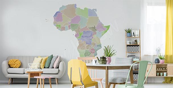Sticker politische Aufteilung Afrika
