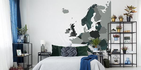 Sticker politische Europakarte