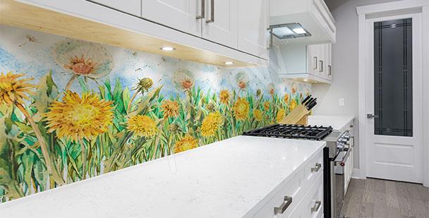 Sticker Pusteblumen für die Küche