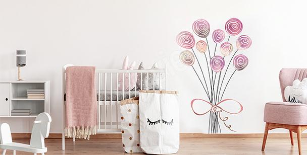 Sticker Rosen fürs Kinderzimmer