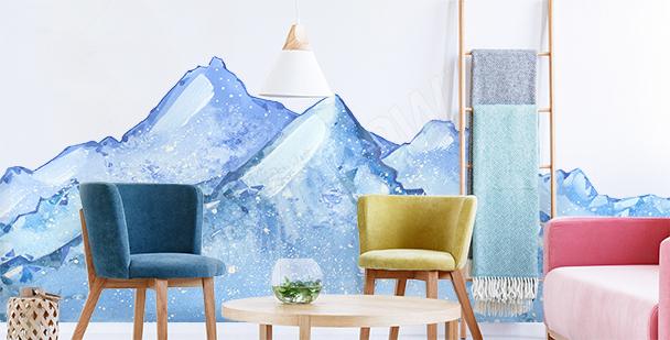 Sticker Schneelandschaft
