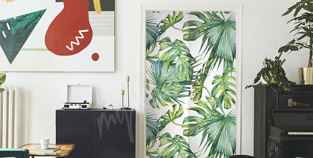 Sticker städtischer Dschungel