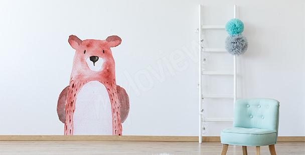 Sticker Tiere: Bär