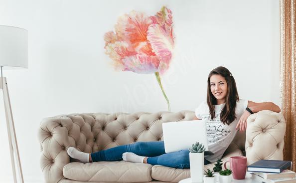 Sticker Tulpen für das Wohnzimmer